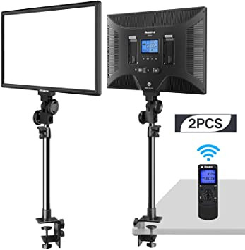 Dazzne D50 light with clamp stand