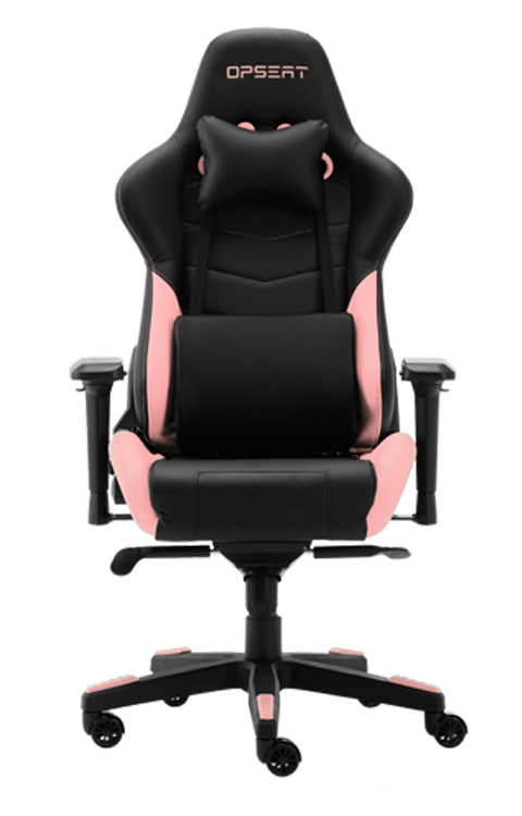 OPSEAT Master Chair in pink for gamer girls