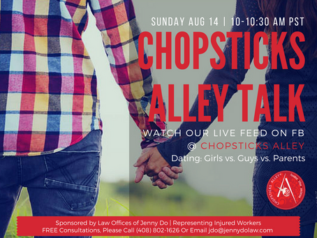 "Chopsticks Alley Talk Live Facebook Feed ""Dating for the Modern Day Vietnamese-American Woman&q"