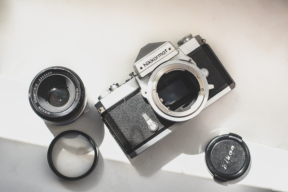 Image of camera by Jackie Huynh