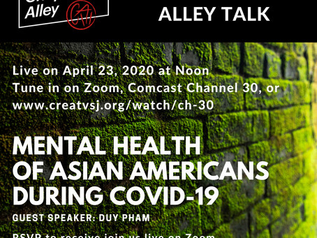 Chopsticks Alley Talk Live Episode 19: Mental Health of Asian Americans - Covid 19