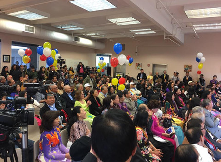 A Heart Song for the Grand Opening of the First Vietnamese-American Community Center in the US.