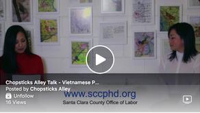 Chopsticks Alley Talk: A Public Message in Vietnamese about the Coronavirus and Santa Clara County