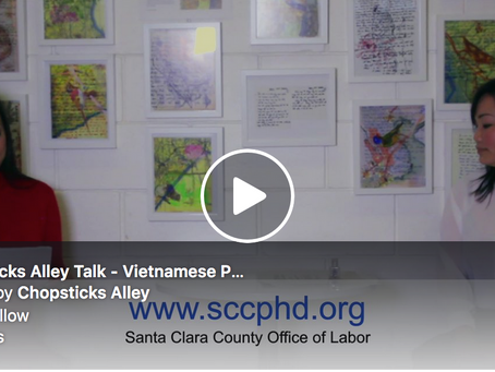 Chopsticks Alley Talk: A Public Message in Vietnamese about the Coronavirus and Santa Clara County