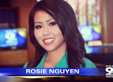 Broadcast Journalist Rosie Nguyen Talks About Finding Her Career