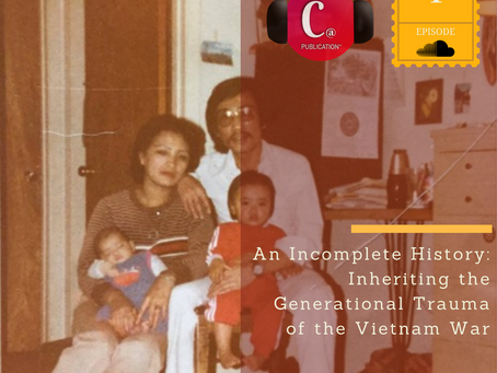 Chopsticks Alley's First Podcast - An Incomplete History: Inheriting the Generational Trauma o