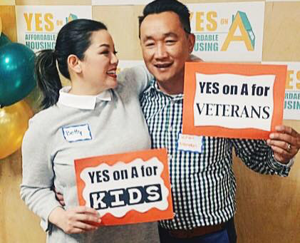 Betty Duong leads Measure A for Affordable Housing in Santa Clara County