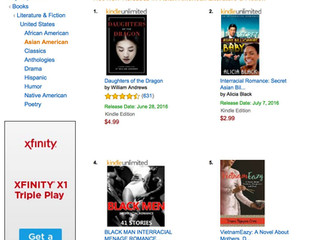 VietnamEazy on Amazon's Hot New Release List since July 1, 2016