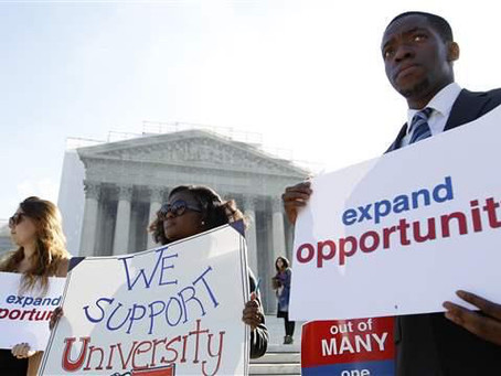 Supreme Court Upholding Affirmative Action, No Impact on Asian Americans in UC Admissions