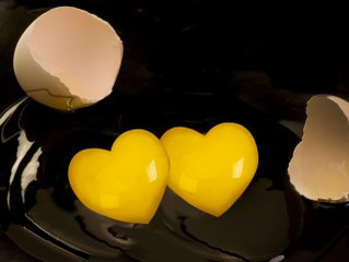 Does cracking an egg to discover double yolks inside make me special?
