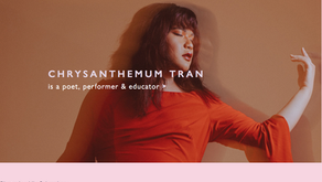 Chrysanthemum Tran, Vietnamese American poet.  The First Trans Woman Finalist of the Women of the 20
