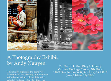 Emerging in America: an Art Exhibit by Andy Nguyen