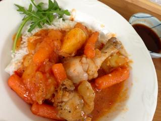 Chicken Ragu – gà ragu- for dinner