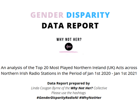 Linda Coogan Byrne from 'WhyNotHer?' podcast has published a gender disparity report for radio in NI
