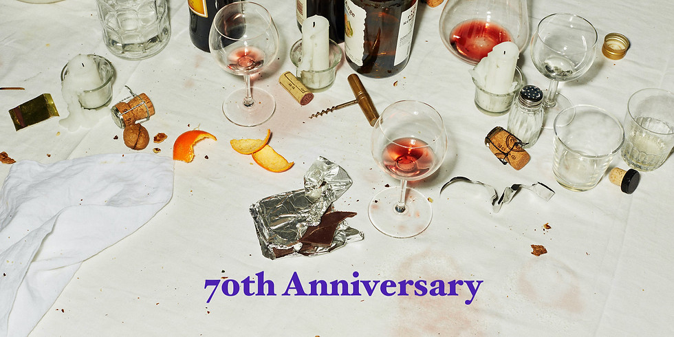 70th Anniversary Dinner Party