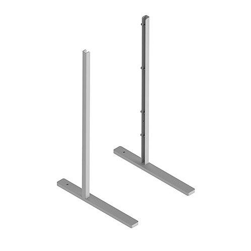 Supports pour panneau plexiglass