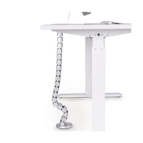 Goulotte passe-câbles verticale articulée, Longueur 130cm