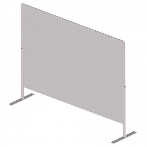 Protection plexiglass à poser