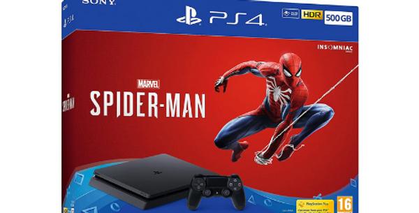 PlayStation 4 500GB & Marvel's Spiderman