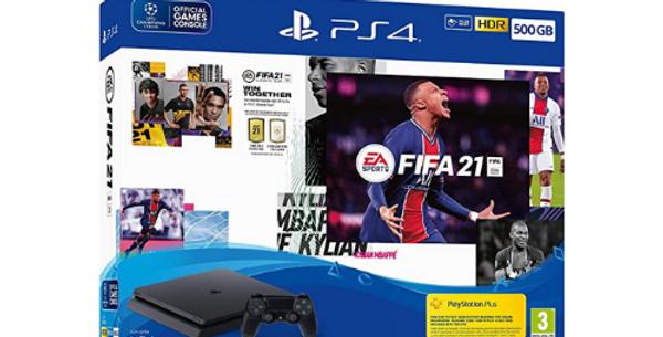 Sports Fifa 21 & PS4 500GB Bundle