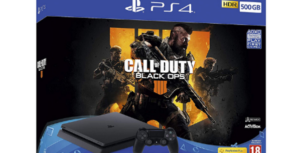 Playstation 4 Slim 500GB & Call of Duty Black Ops 3