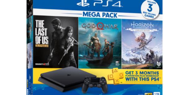 PS4 MEGA PACK Bundle
