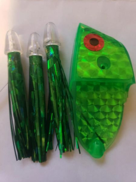 Holo Green Glow Meat Rig