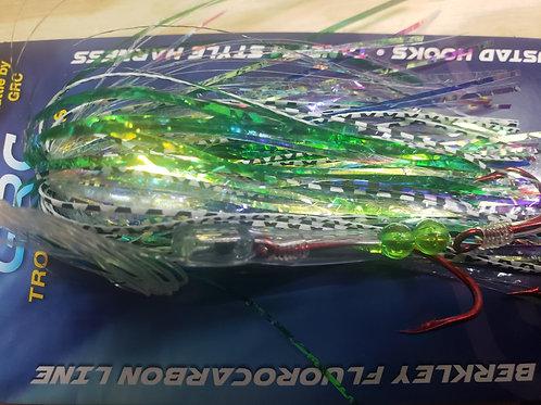 Glow Green Cracked Ice Live