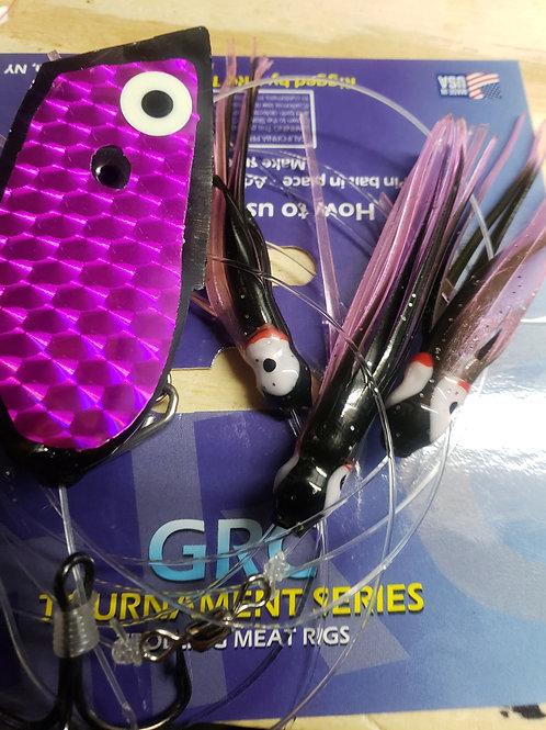Black Purple Glow Squid Meat