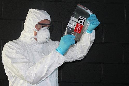 Staalname door asbestdeskundige inclusief 3 analyses