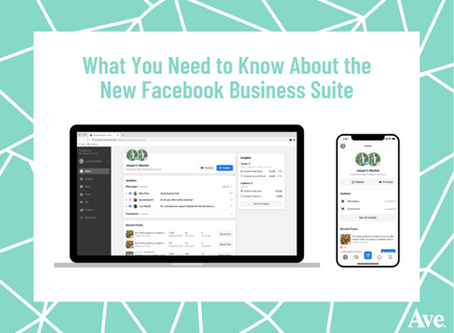 What You Need to Know About the New Facebook Business Suite