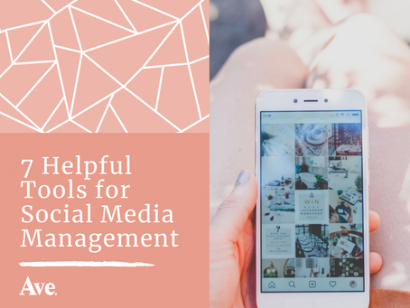 7 Helpful Tools for Social Media Management