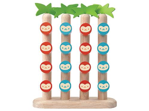 4 opice v vrsti
