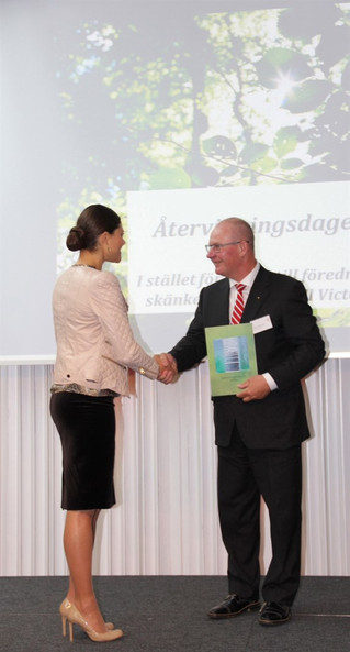 Bergo - BERGO FLOORING RECEIVED HONORARY MENTION, PRESENTED BY HRH THE CROWN PRINCESS VICTORIA OF SW