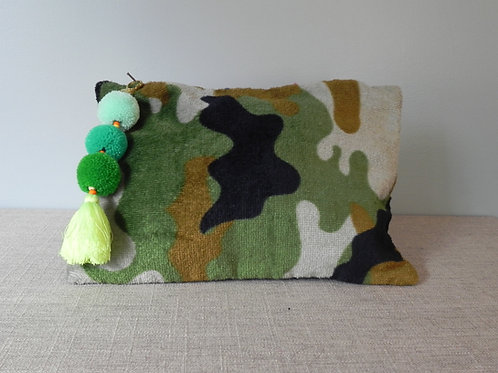Green Camouflage Clutch