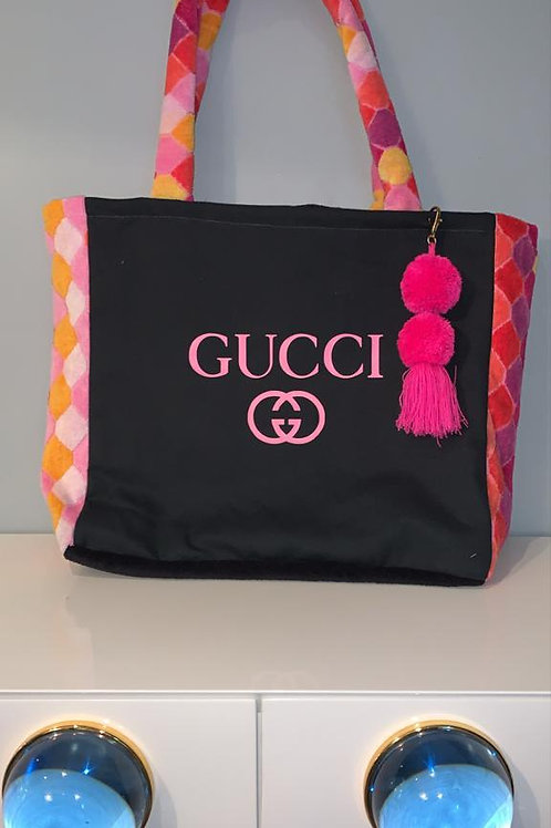Pink Gucci Circles Totes