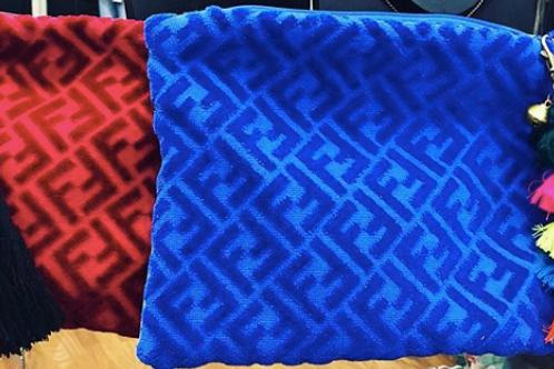 Fendi Towel Clutch