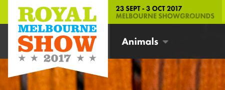 Royal Melbourne Show Banner