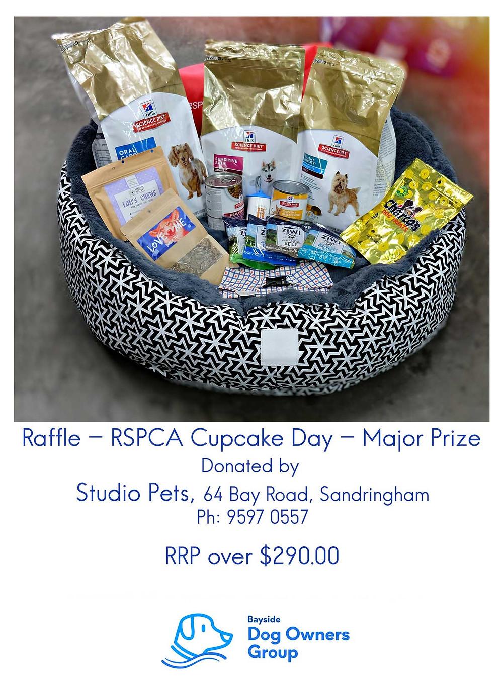 Studio Pets Raffle Prize