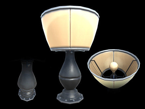 Modern Lamp (With LOD)