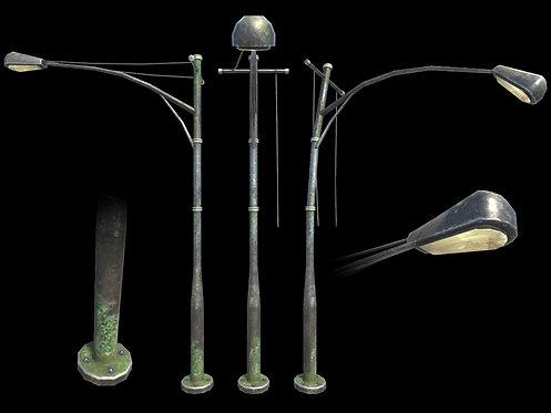 Apocalyptic Modern Street Lamp