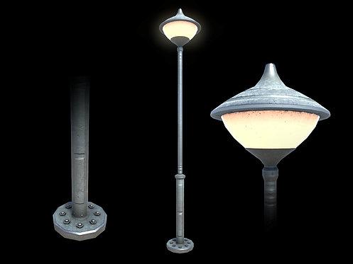 Retro Street Lamp (With LOD)