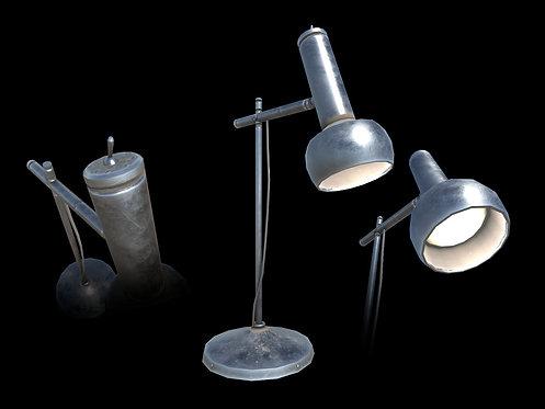 Retro Desk Lamp (With LOD)