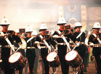 Where is all began HM Royal Marines Band Service