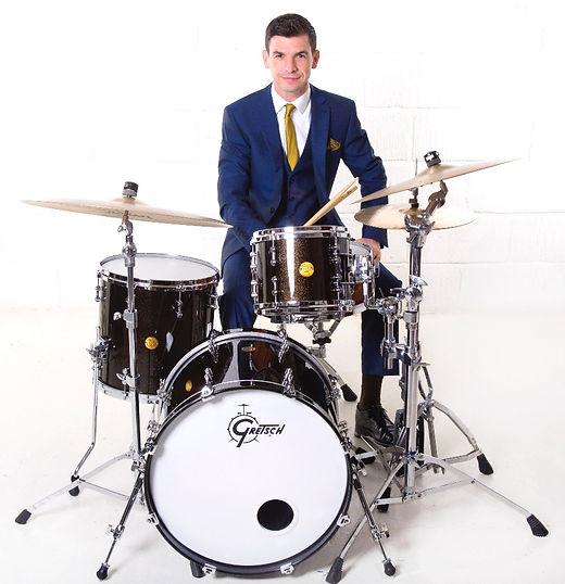 Jazz drummer,big band drummer, rock drummer, session drummer,funk drummer