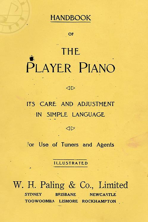 HANDBOOK OF THE PLAIER PIANO