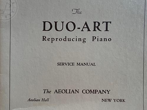 DUO-ART Reproducing Piano( Service Manual )