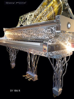 Futuristic Pianos