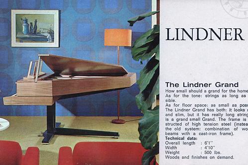LINDNER Piano brochure