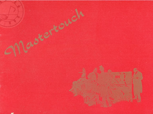 Mastertouch piano roll collection ( Golden Jubilee)